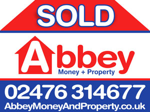 Sold Sign- Abbey Money + Property